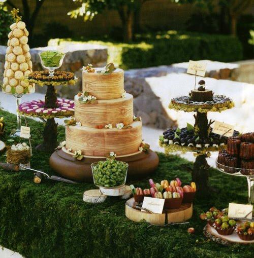 A Whimsical Woodland Wedding