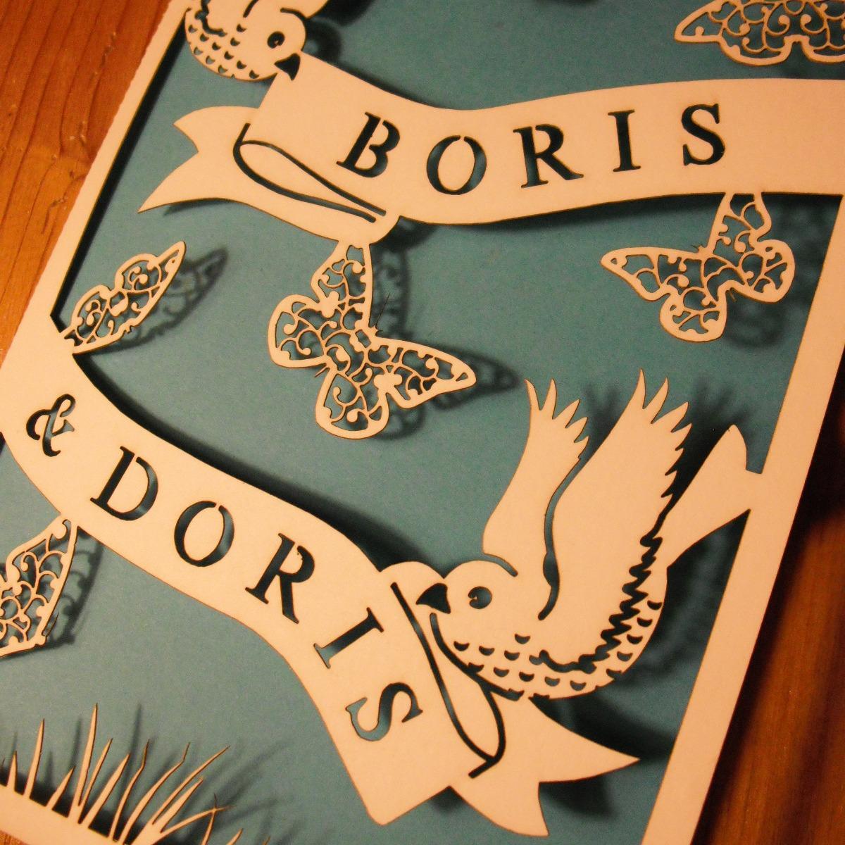 Boris and doris wedding