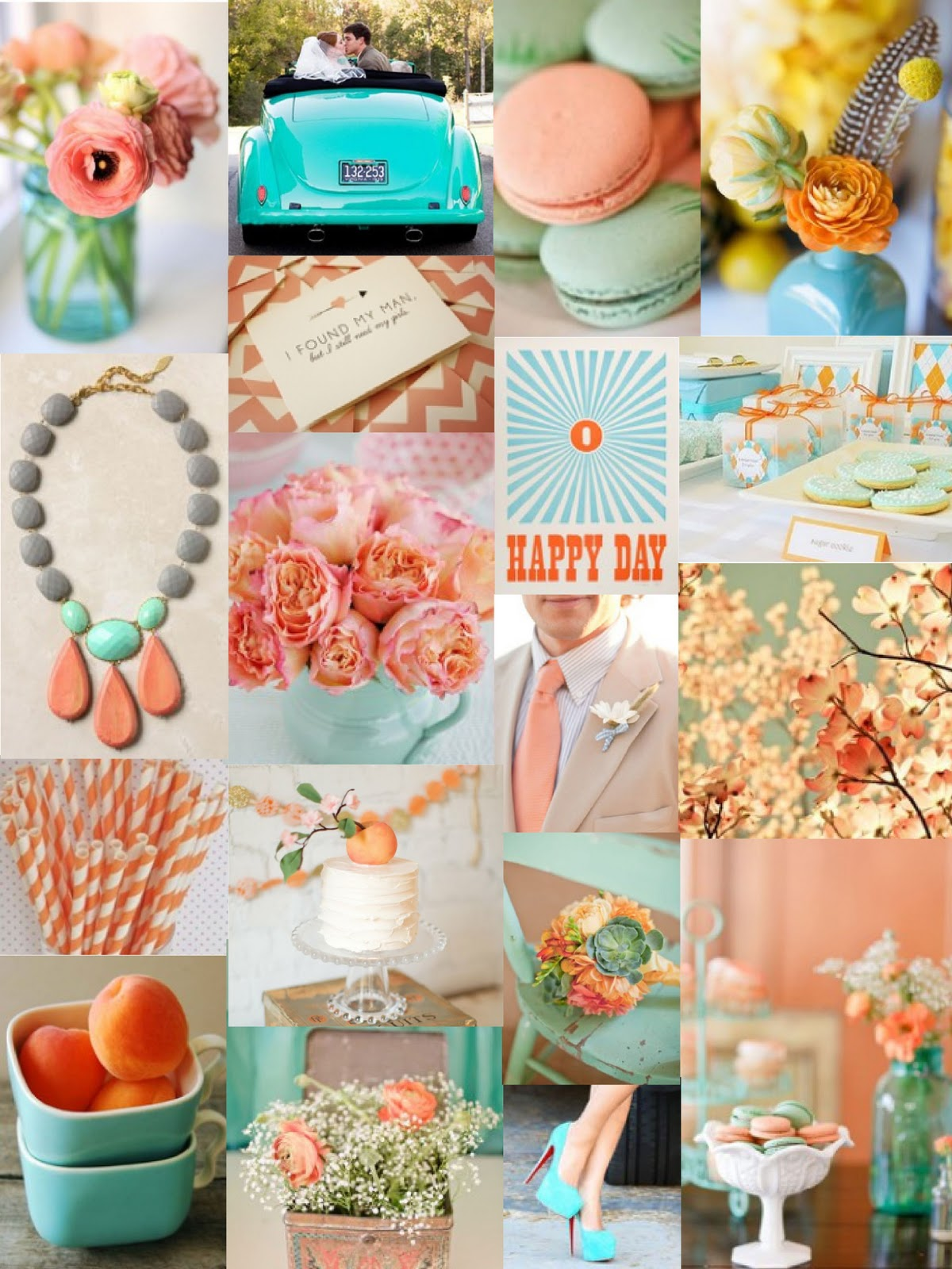 Colour flower trends for 2012 uk wedding blog so you for Turquoise gold wedding theme