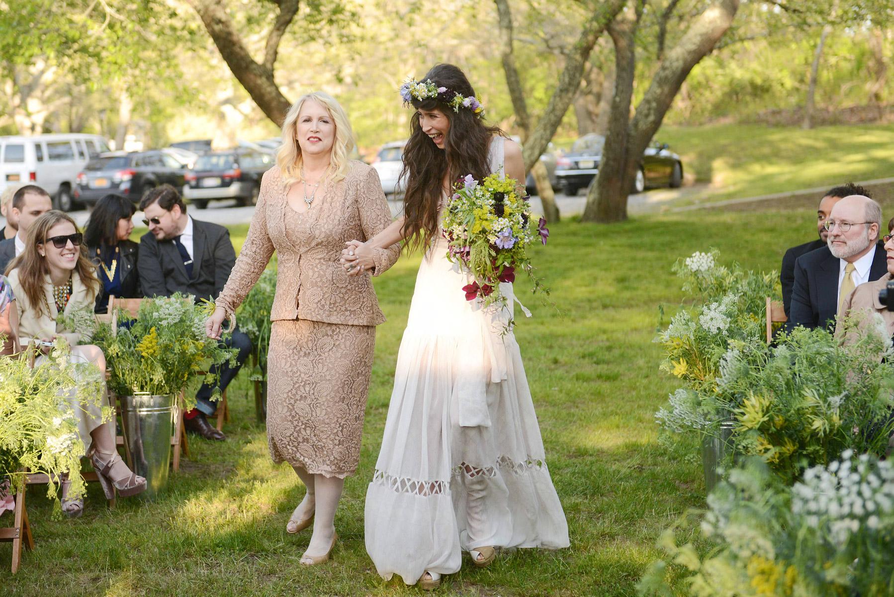 A Real Boho Wedding In Long Island