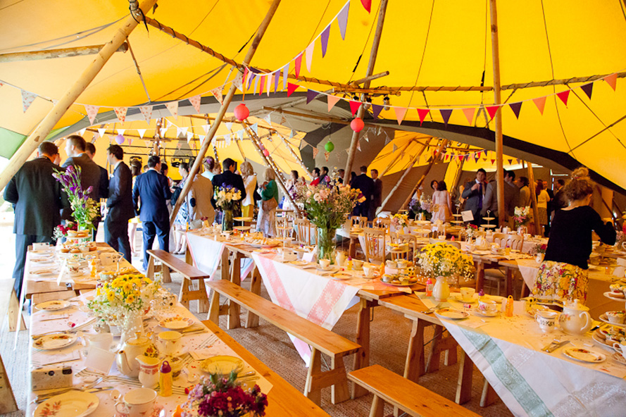 Real Tipi Weddings: Wedstock – A Real Wedding {part Two}